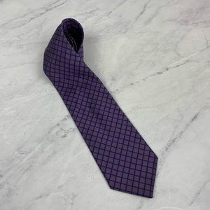 Brooks Brothers Purple & Blue Silk Tie